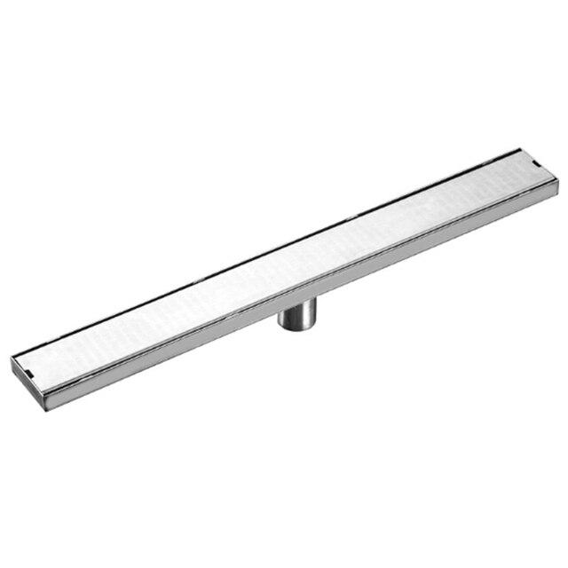 Linear Channel Floor Drain Gate 60Cm Stainless Steel Deodorization Type Shower Floor Drain Long Drainage Square Bathroom Drain