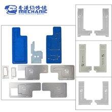 MECHANIC 3D BGA Reballing Stencil Kit For iPhone X-12 PRO MAX Intermediate layer can be planted platform tin template welding