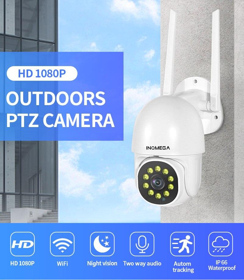 1080P PTZ Wifi IP Camera Outdoor Detect Wireless Camera H.265 P2P ONVIF Audio 2MP Security CCTV Camera baby monitor Yoosee|Baby Monitors| - AliExpress