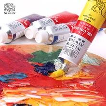 Profesjonalny 170ml farba olejna artysta profesjonalny obraz olejny Pigment fo malowanie kolor farby dostarcza pojedynczy kolor wybierz