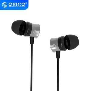 Image 1 - ORICO 이어폰 형 이어폰, 이어폰 형 이어폰, 마이크 이어 버드 블랙