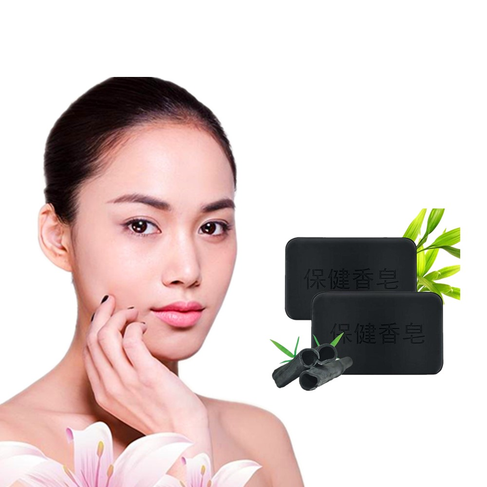 Management Of Activated Carbon Facial Washing Soap Acne And Natural Bamboo Charcoal Powder Nursing Skin Tourmaline Therapy 40g