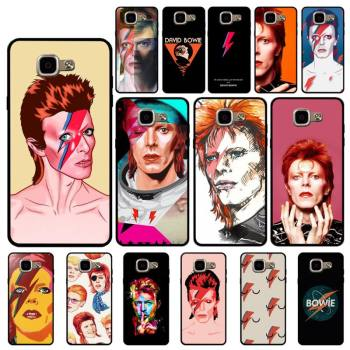 FHNBLJ David Bowie Custom Soft Phone Case for Samsung A6 A8 Plus A7 A9 A20 A20S A30 A30S A40 A50 A70 image