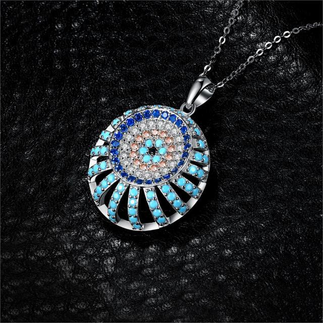 Turquoise Spinel Pendant
