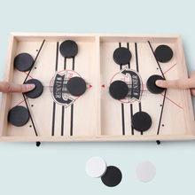 Foosball Winner-juegos de mesa para niños y adultos, juegos de mesa de Hockey con disco eslingpuck, juguetes interactivos para padres e hijos