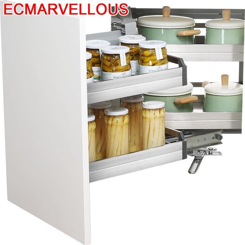 Permalink to Accesorios Organizar Para Armario Rangement Keuken Stainless Steel Cozinha Organizer Cuisine Kitchen Cabinet Storage Basket
