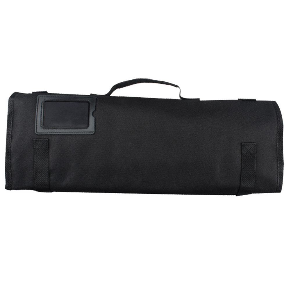 Large Capacity 8 Pocket Slots Oxford Cloth Professional Roll Cooking Portable Chef Knife Bag Kitchen Accessories Strap Pack
