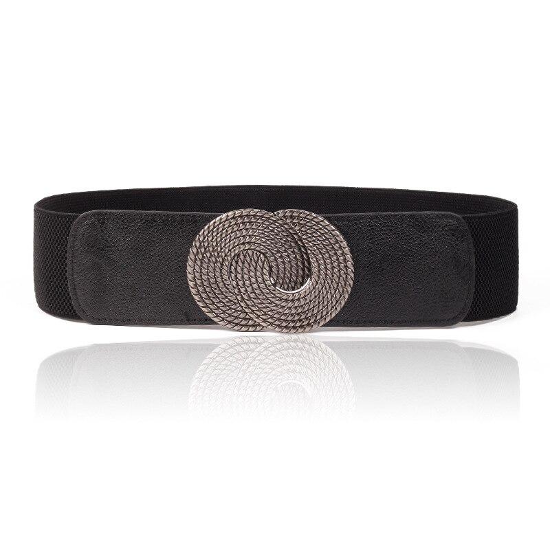 Women's Belt Vintage Engraving Wide Female Belt Corset Bra Bust Elastic Belt Belt Women's Elastic Band Large Female Belt Strap