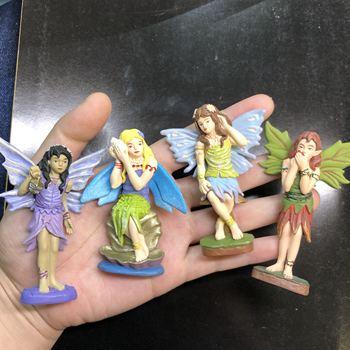Pvc figure model toy fairy 4pcs/set фото