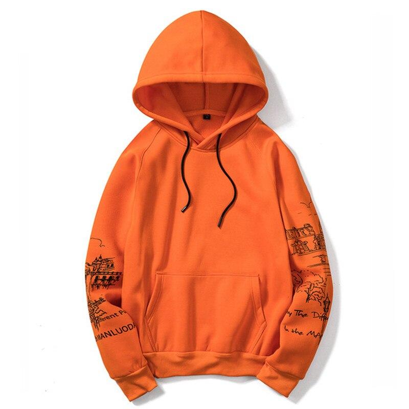 Modus Neue männer Casual Winter Dünne Baumwolle Hoodie Warme Mit Kapuze Sweatshirt Kaminsims Pullover Outwear Streetwear Plus Größe