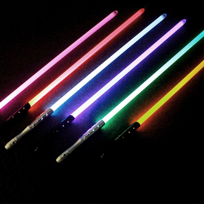 Juguetes De Metal sable De Luz Espada De Luz Kpop palo De Luz palo láser luminoso Brinquedos Juguetes juguete Oyuncak - 5