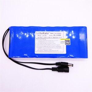 Image 5 - HK LiitoKala 12V 2200mah 3000mAh 6800mah 9800mah 10ah 18650 Li lon DC 12V Super Rechargeable Battery Pack  rechargeable battery