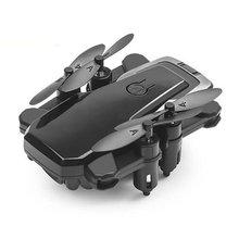 Mini Drone z kamerą 4k HD składane drony jednoprzyciskowy powrót FPV Quadcopter podążaj za mną helikopter RC quadrocopter zabawka dziecięca cheap OCDAY 1080 p hd video recording 4 k hd nagrywania wideo CN (pochodzenie) Kamera w zestawie 1 3 0 cali 100m 6 kanałów