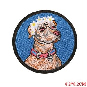 Значки с животными патчи для одежды утюжок на вышивать шить аппликация Орел волк собака кошка змея Одежда патч, аксессуары украшения