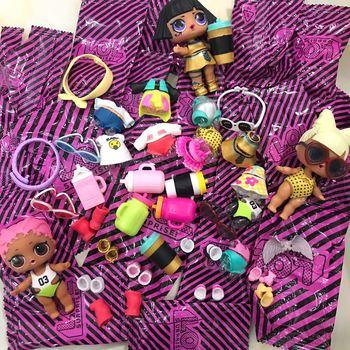 Originales LOL Surprise Dolls Genuine LOL Originate Surprise Dolls Clothes For Random 1pcs Blind Bag Shoes Baby Bottle Jewelry