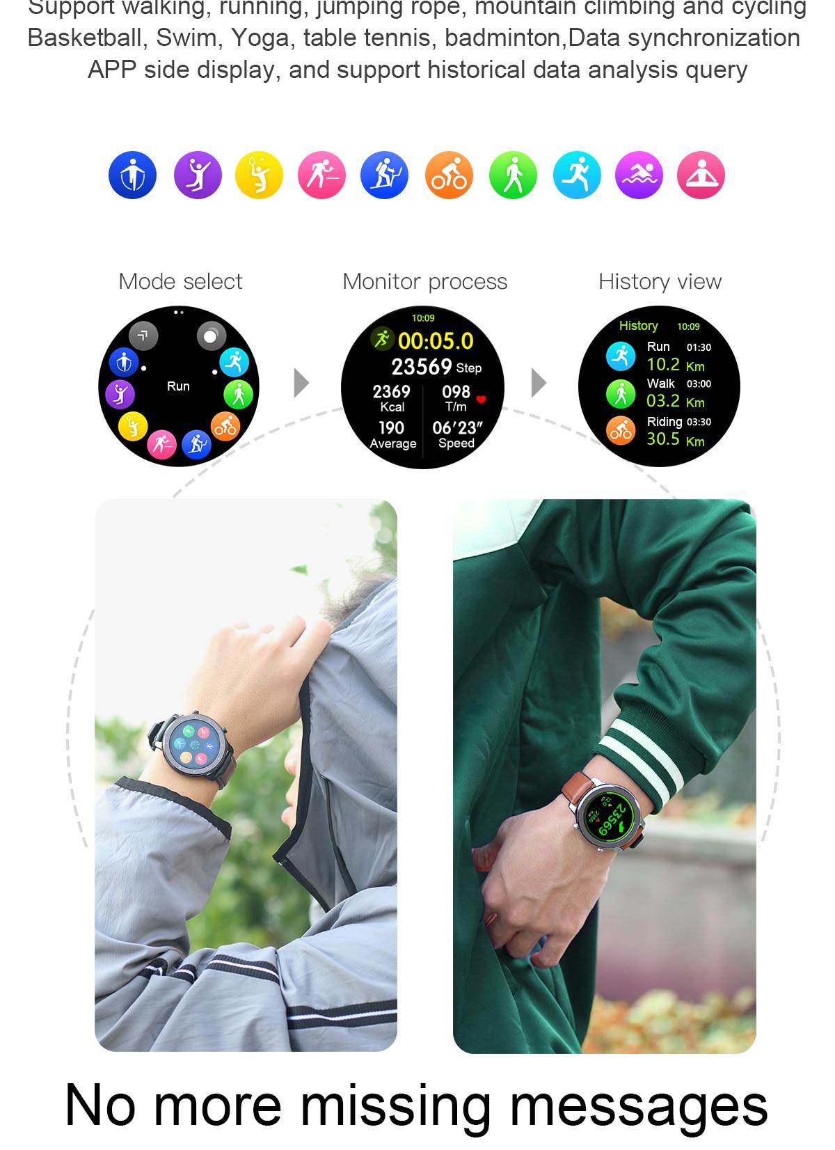 H752c58068c8742b0a4b7726cb3287c92j LEMFO 2020 Smart Watch Men Full Touch Screen  IP68