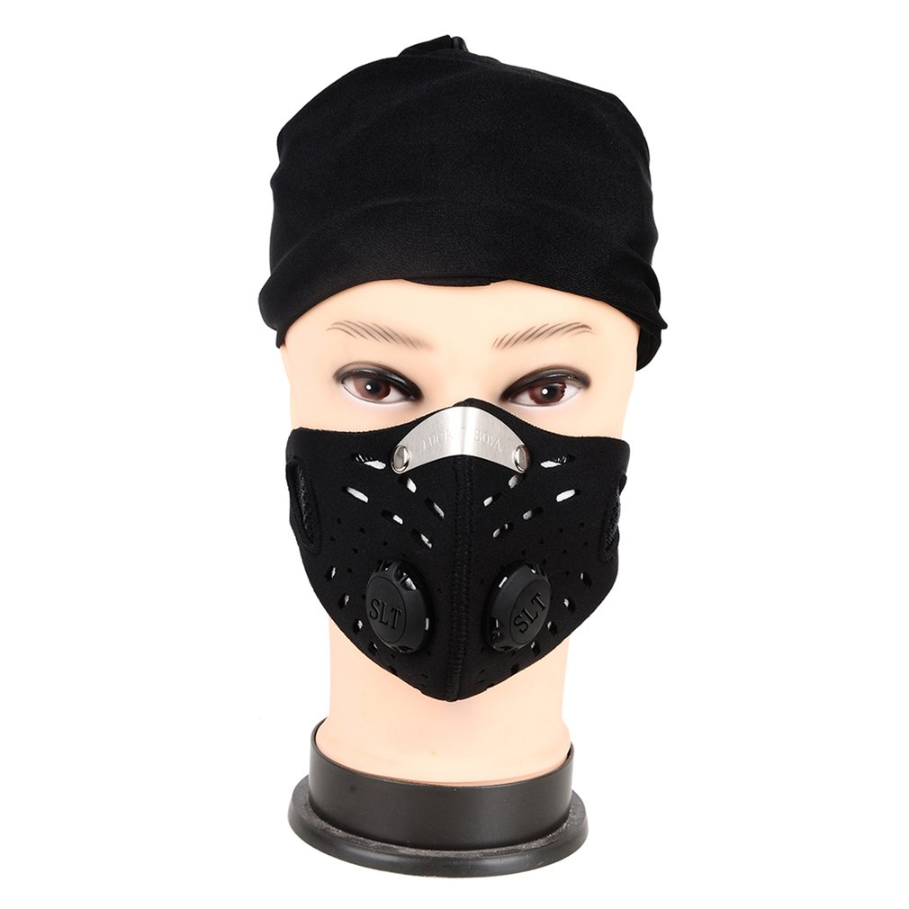 New Cycling Dust Mesh Mask Activated Carbon Filter Dust Odor Mask Anti-fog Electric Mask Face Dust Gas Mask 1/6/10pcs