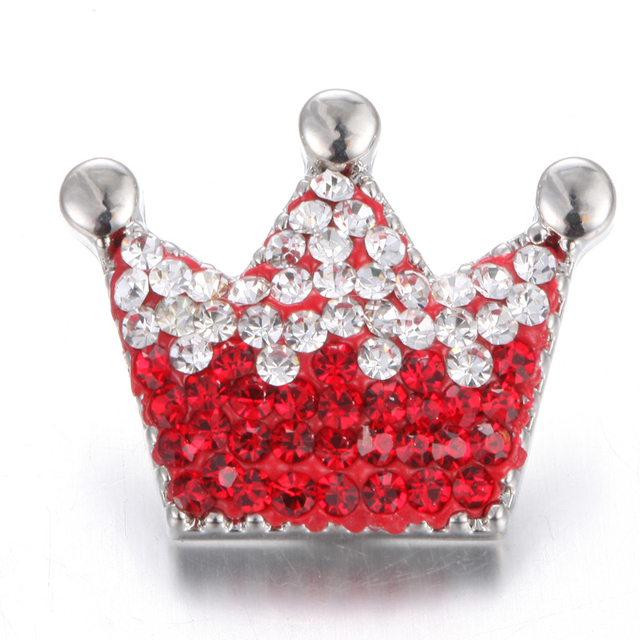 Christmas Rhinestone Snap jewelry