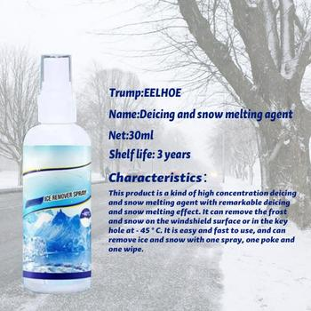 30/50ML New 2020 Auto Car Remover Liquid Melting Agent Window Windshield Window Deicing Agent Winter Tools For The Car 2