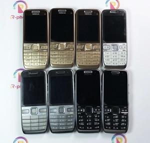 Image 2 - מקורי נוקיה E52 2G 3G סמארטפון נייד טלפון 3MP משופץ נייד & עברית ערבית אנגלית רוסית מקלדת