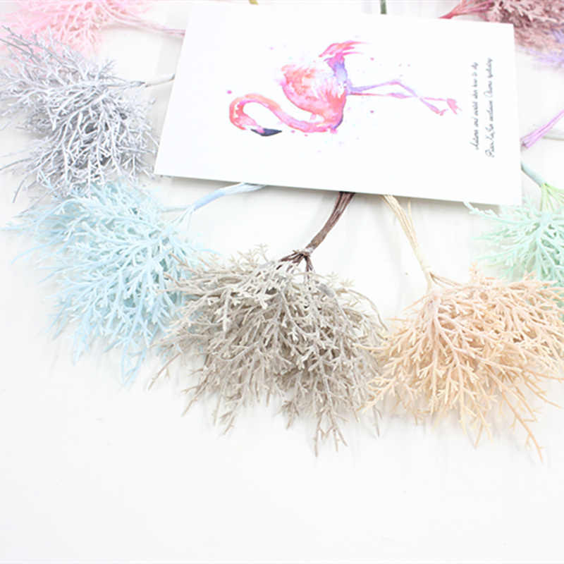 10 Pcs Multicolor Natal Dekorasi Tanaman Karangan Bunga Pernikahan Dekorasi Bunga Buatan Tangan DIY Hadiah Kotak Aksesoris Bunga Buatan