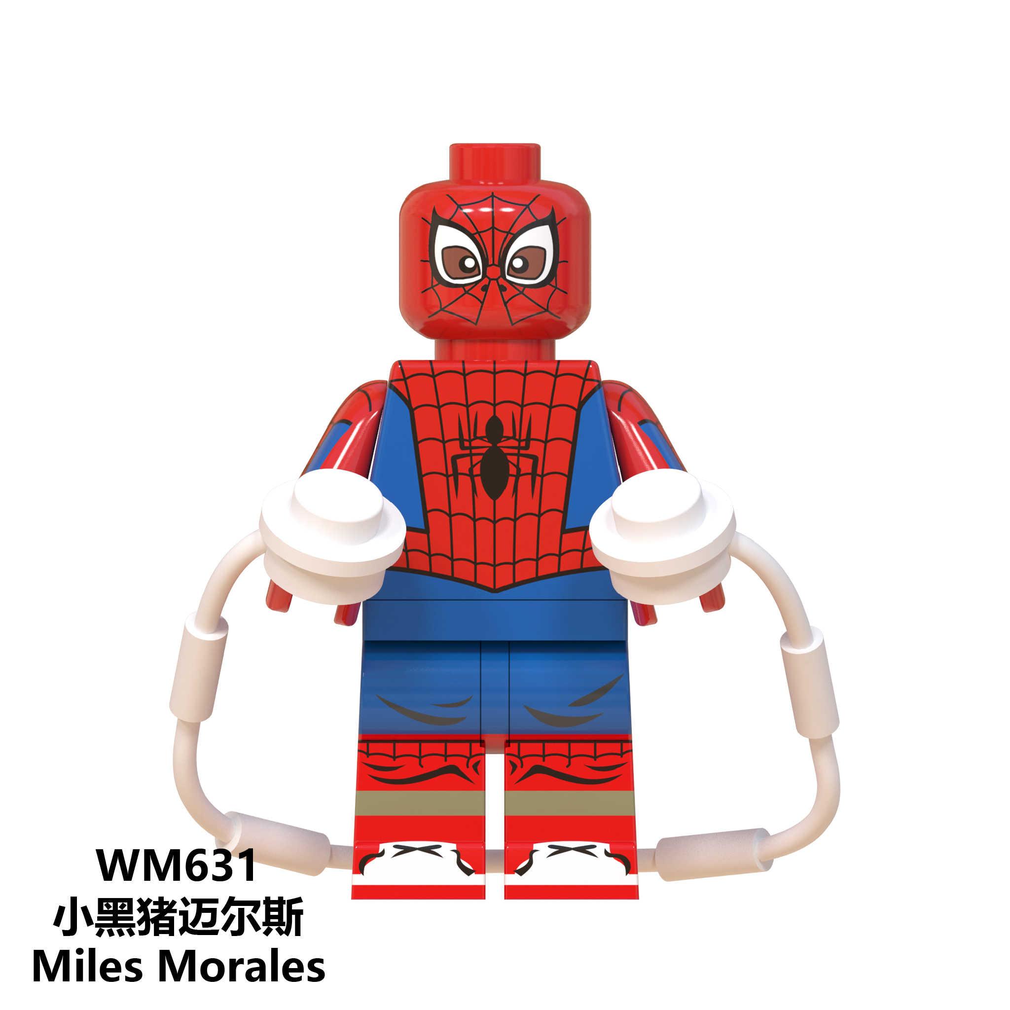 สำหรับ Legoing Marvel Spiderman Avengers Spider-Man Far From Home Doctor Octopus Deadpool ตัวเลข Super HERO Iron Man ของเล่น legoings
