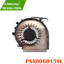 NEW FOR MSI GE62VR GE72VR GP62MVR GL62M CPU COOLING FAN PAAD06015SL N366
