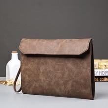 Recreational Business Documents Pack One Shoulder Crossing Retro Korean Mens Handbag Trend Envelope