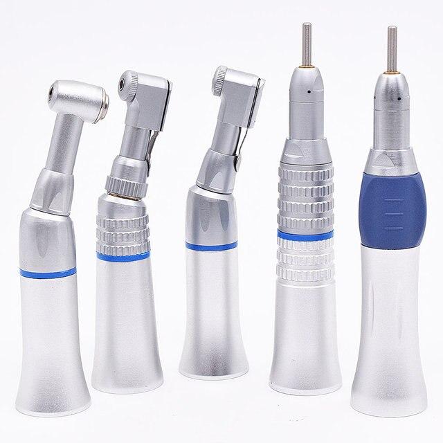 جديد الأسنان منخفضة السرعة قبضة الهواء التوربينات قبضة مستقيم كونترا زاوية الهواء المحرك