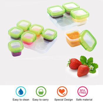Baby Food Supplement Box Mini Frozen Storage Sealed Portable Snack Compartment