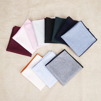Fashion New Men's Vintage Solid Pink Novelty Pocket square For Man Suits Hankies Wedding Party Man G