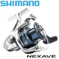 Shimano nexave 1000/2500/c3000/4000 fiação carretel de pesca com AR-C carretel adequado para o seawater molinete de pesca