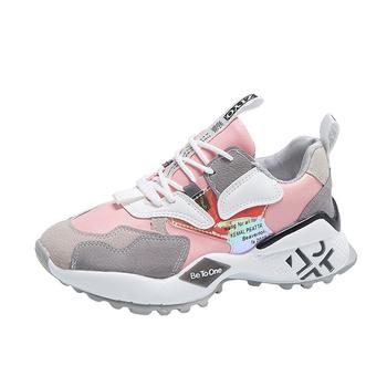 Buty damskie na co dzień buty dla par skórzane buty buty dla taty buty na platformie buty damskie buty sportowe buty do tenisa platformy tanie i dobre opinie SLENTPPK Płótno CN (pochodzenie) Sztukateria Stałe Dla dorosłych Stretch Spandex Wiosna jesień Super Wysokiej (8cm-up)