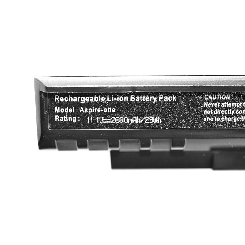 Image 5 - 11.1v 2200mAh 3 Cells um08a31 laptop battery for Acer Aspire One A110 A150 ZG5 UM08A72 UM08A51 UM08A71 UM08A73 UM08B74 UM08B71battery for acer aspirebattery for acerlaptop battery -