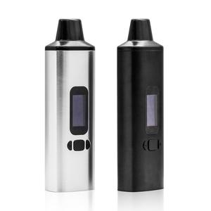 Image 3 - ALD AMAZE WOW V1 V2 Dry Herb vaporizer OLED Display With Herb Container Herbal Vape Pen Electronic Cigarette Kit VS Nokiva