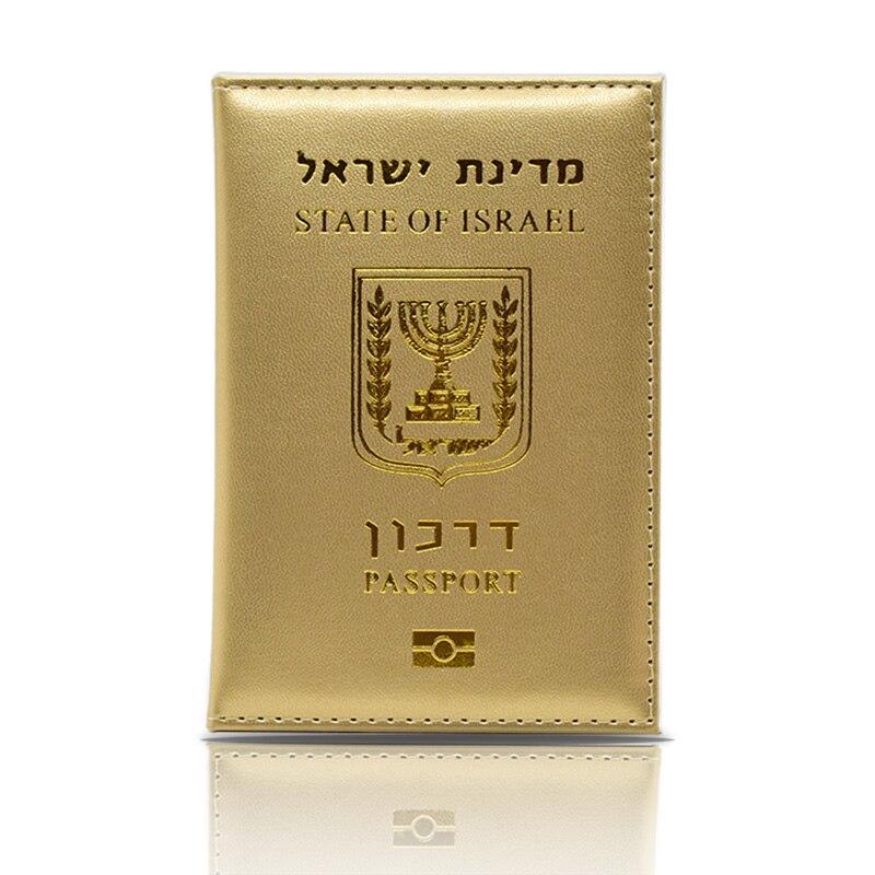 HEQUN Fashion Israel Women Passport Cover Pink Elegant Pu Leather Travel Passport Holder Lady Girls Case For Passport Wallet New