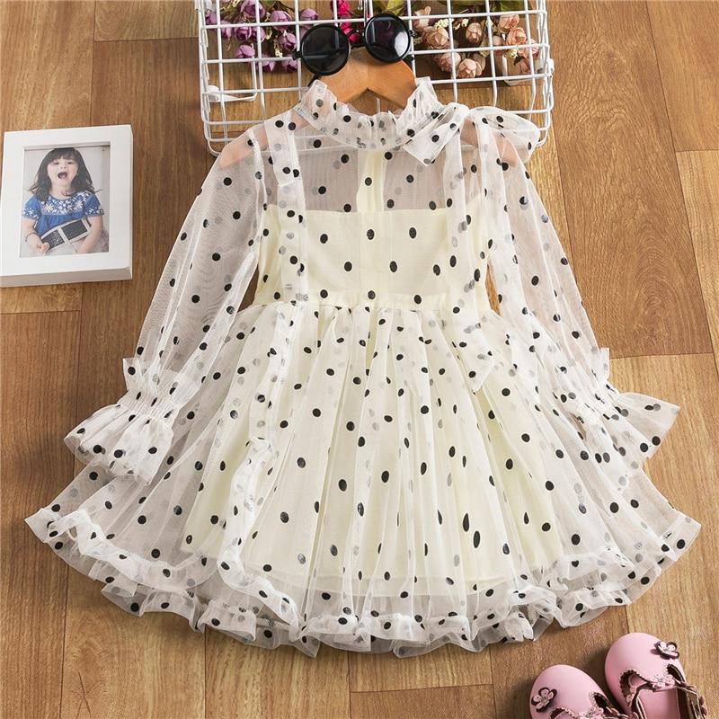 Cute Girls Dress 2020 New Summer Girls Clothes Flower Princess Dress Children Summer Clothes Baby Girls Dress Casual Wear 3 8Y 1