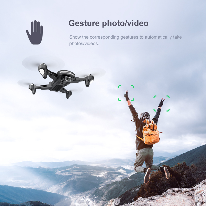 gesture control drone features