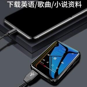 Image 4 - Yeni BENJIE X1 Bluetooth MP3 çalar 16GB Mini dokunmatik ekran müzik çalar desteği FM radyo e kitap Video oynatıcı inşa hoparlör