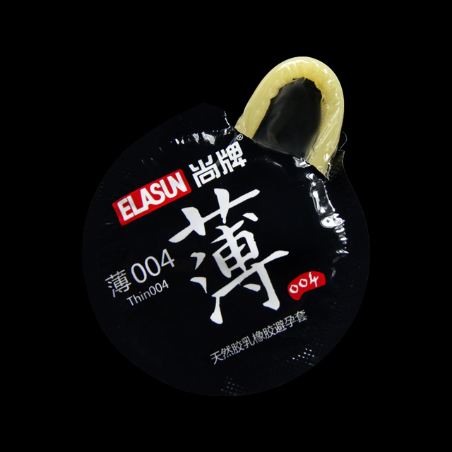 Elasun 24pcs 0.04mm Ultra Thin Condoms For Men Intimate Lubricating Natural Latex Dildo Condom Male Contraception Penis Sleeve