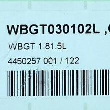 Inserção original do carboneto de 10 pces wbgt030102l cp500