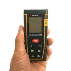 laser distance meter SW-T80 80m 262ft laser Bubble level range finder Building measure tape testerTools infrared rangefinder