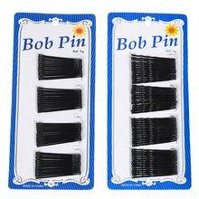 60 unids/set horquillas negro para las mujeres cabello Clip de dama Bobby pines Invisible onda Hairgrip pasador horquilla Clips de pelo accesorios