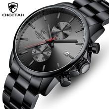CHEETAH Men Watches Top Brand Luxury Fashion Black Business Quartz Watch Mens Chronograph