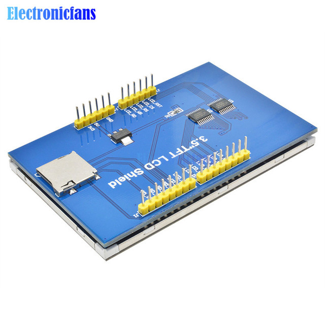 """3.5"""" 3.5 inch 480*320 TFT LCD Module Screen Display R61581 Controller for Arduino UNO MEGA2560 Board with/Without Touch Panel 6"""
