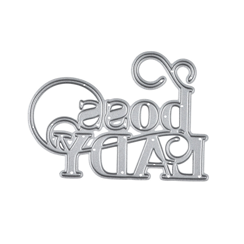GJCrafts Word Dies Letter Metal Cutting Dies New 2019 for Card Making Scrapbooking Embossing Cuts Stencil Decor Craft Dies in Cutting Dies from Home Garden
