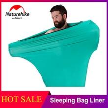Naturehike, для путешествий, Высокоэластичный спальный мешок, вкладыш, портативный, для переноски, простынь, для отелей, анти-грязный спальный мешок