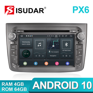 Image 2 - Isudar PX6 1 Din Android 10 Car Multimedia Player For Alfa Romeo Mito 2008  CANBUS Auto Radio Hexa Core Video DVD GPS System DVR
