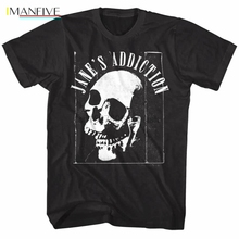 Janes Addiction Jaw Breaker Album Cover Skull Mens T Shirt Metal Rock Band Merch