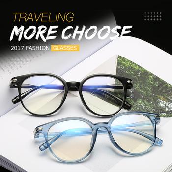 2020 moda okrągła oprawa okularów okulary korekcyjne ramka do okularów okulary optyczne marki oczu ramki okularów dla mężczyzn kobiet tanie i dobre opinie HJYBBSN Unisex Z tworzywa sztucznego GEOMETRIC 7+JH15959